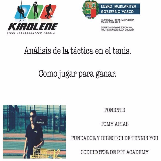 Jornadas Tacticas Tennis You p